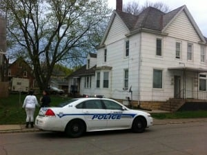 Police responded to 2271 Washington Street in Dubuque Monday afternoon for reports of a stabbing