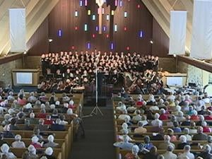 The Dubuque Chorale performed its 40th anniversary concert Sunday afternoon at Westminster Presbyterian Church in Dubuque