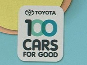 Toyota's 100 Cars for Good program could give a new car to each of three eastern Iowa nonprofit organizations