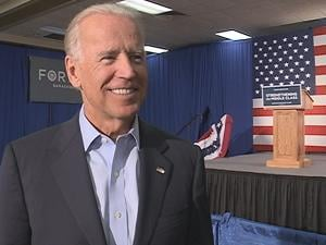 Biden gave an exclusive local TV interview to KWWL