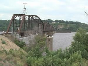 The average level at Dubuque's railroad bridge this time of year is 8.5 feet. Thursday afternoon, it was 8.48 feet.