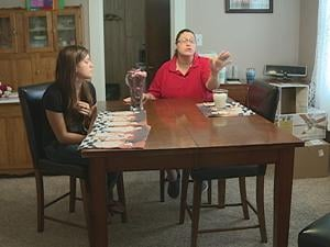 The girl and her mother shared their story with KWWL Monday