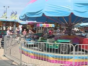 Fair organizers say an average of 70,000 people visit the six-day fair every year