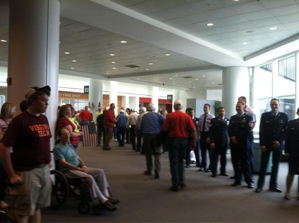 Iowa Honor Flight veterans get a hero's welcome in Washington, DC