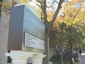 Carnegie-Stout Public Library in Dubuque has seen the demand for e-books skyrocket.