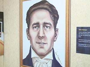 Forensic artist Karen Taylor's scientific rendition of Julien Dubuque, 2012.