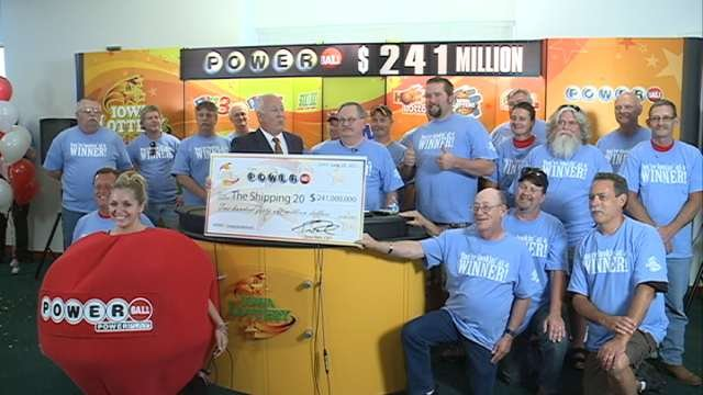 """Mulford was one of the """"Shipping 20,"""" a group of Quaker Oats employees who won a $241 million Powerball jackpot in June, 2012."""