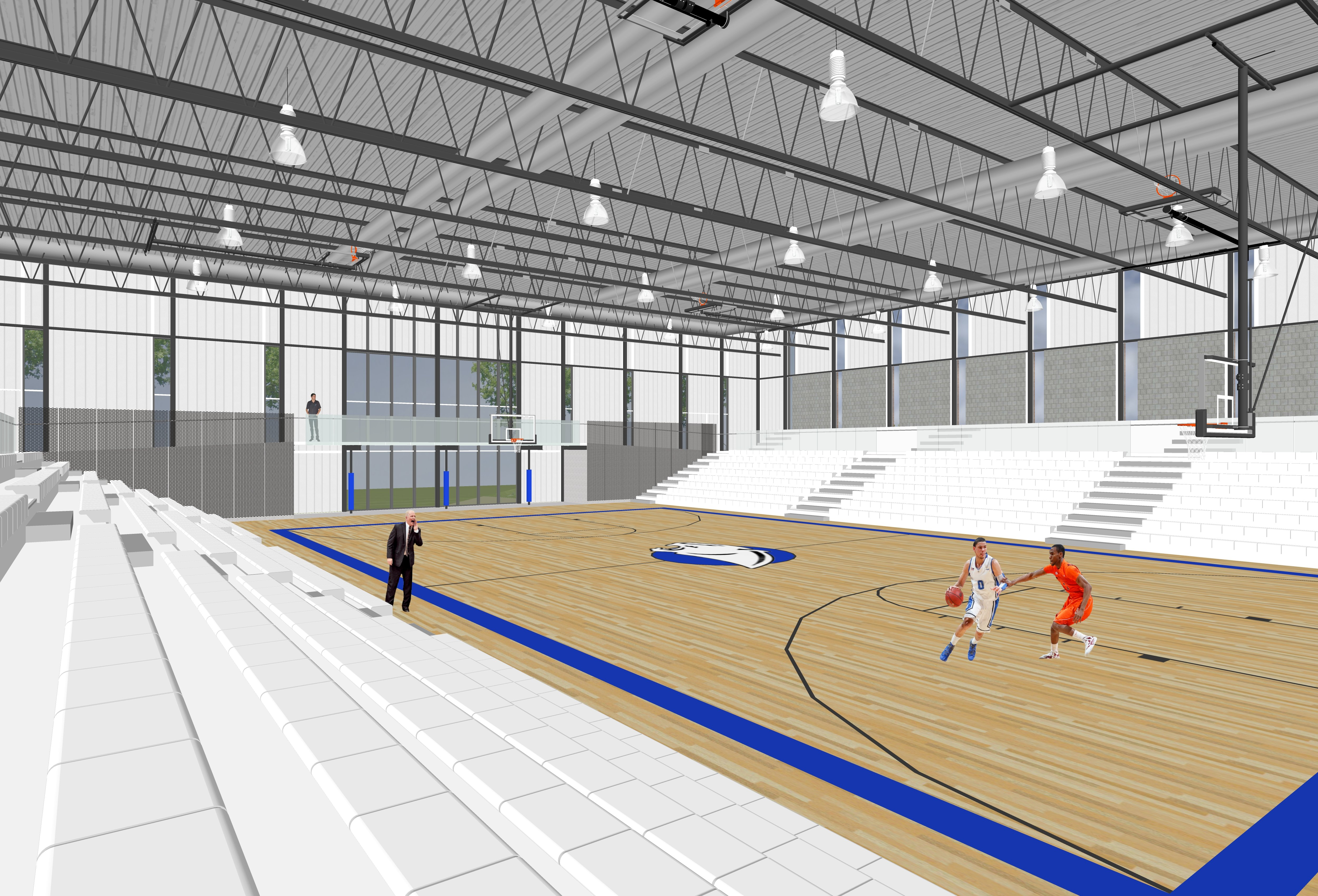 Sketches of high school renovation plans released kwwl for Renovation drawings