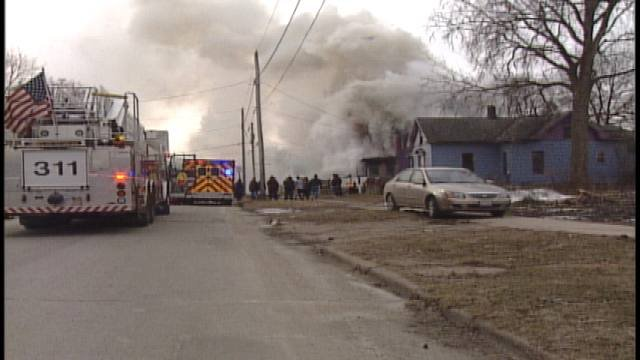 Feb. 25, 2011 fire, 700 block Vinton in Waterloo