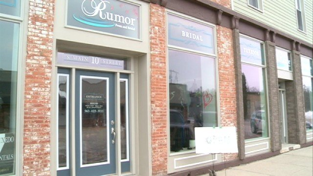Rumor Prom and Bridal is located on 10 S. Main St. in Fayette.