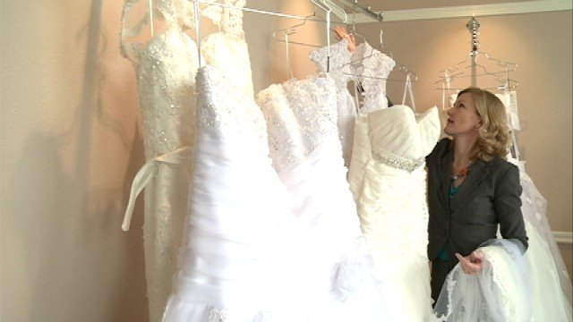 Langel said she will start designing custom dresses for clients in the Fall.