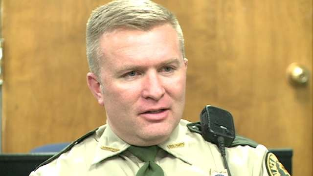 Sheriff Thompson said investigators are still following leads into the Evansdale girls' murders.