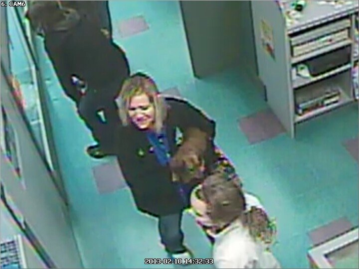 The pet store owner believes this woman took the miniature poodle