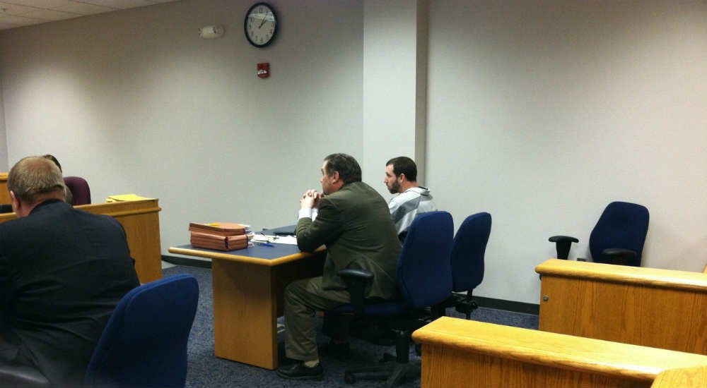 Dan Morrissey in court Friday afternoon.