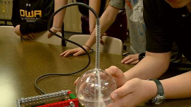 Denver students show off their invention