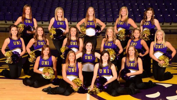 The 2012-2013 UNI Dance Team