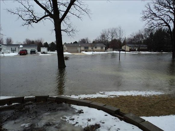 Viewer photo of flooding in Manchester