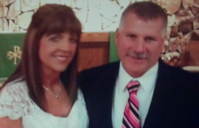 Rick Schneider and his wife, Tammy.