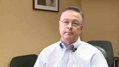 Dubuque businessman and Republican Rod Blum