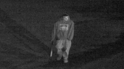 Dubuque police are looking for this young man, who they say vandalized Wahlert High School