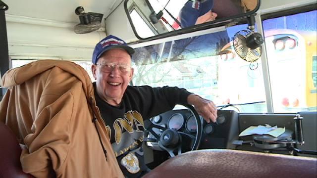 Bus driver Ralph Sienknecht