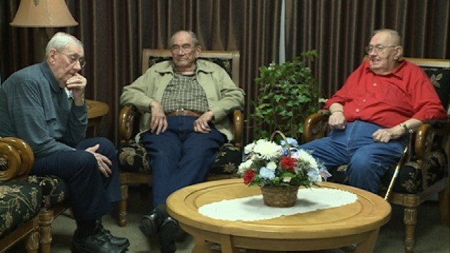 Three brothers, all Korean War vets, left on the Waterloo Honor Flight Tuesday.