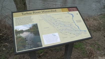 The Turkey River Watershed touches seven eastern Iowa counties