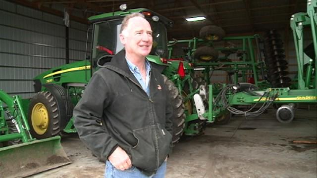 Black Hawk County farmer Vince McFadden
