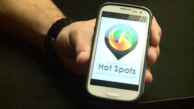 The new Cedar Valley Hot Spots app