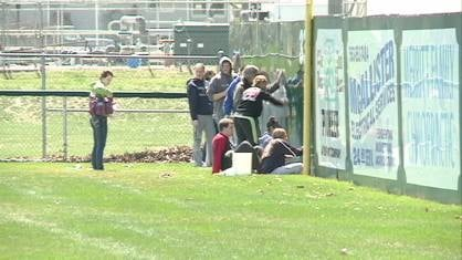 Some 350 teenagers took to the streets of Cascade and Bernard Wednesday to better their communities.