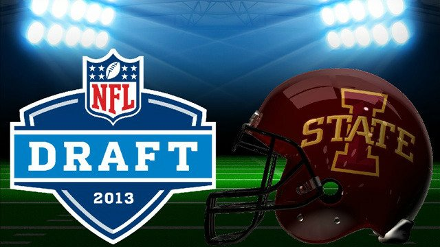 When the lights go on at Radio City Music Hall in New York City for the 2013 NFL Draft, three Iowa State Cyclones will be hoping to hear their names called.
