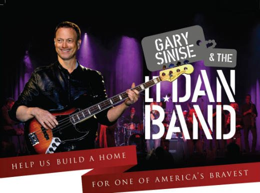 The Lt. Dan Band concert to build a home for injured veteran Taylor Morris will happen at Gateway Park in Cedar Falls on Aug. 3.