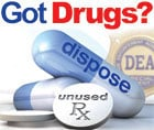 Health officials are encouraging Iowans to bring their expired, unused and unwanted prescription drugs -- including controlled substances -- to collection locations around the state Saturday.