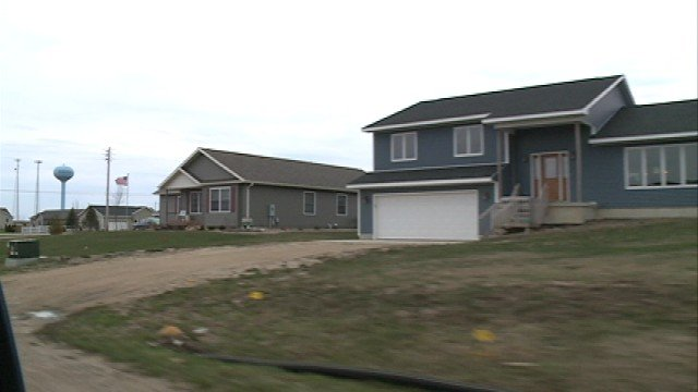 New homes dot the landscape following the 2008 Parkersburg tornado