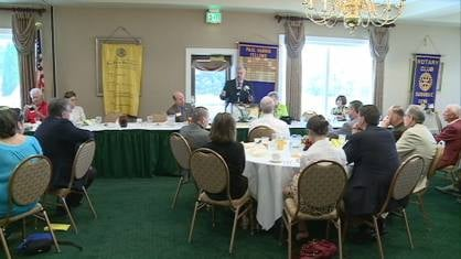 Governor Branstad is hopeful his education reform package will pass this week. At least, that's what he told members of the Dubuque Rotary Club over lunch Tuesday.