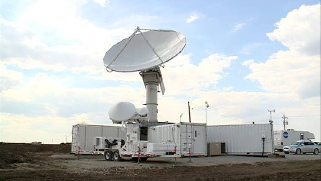 A precipitation radar system from NASA has been stationed in Iowa.