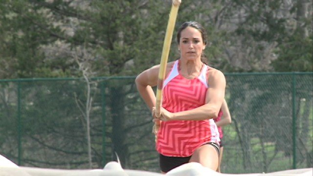 Once Wexter got to the University of Northern Iowa, her pole vault prowess paid off in immediate dividends -- and school records quickly began to fall.