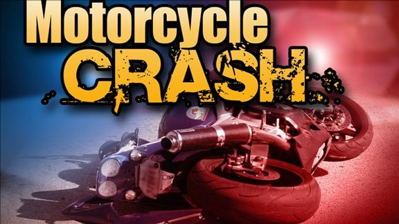 A Cedar Rapids man was killed Tuesday afternoon when his motorcycle crashed just south of Luzerne.
