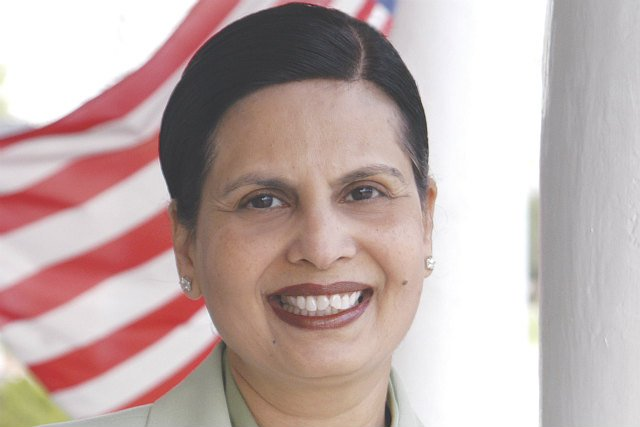 Swati Dandekar, a Democrat from Marion, is eyeing a run for fellow Democrat and U.S. Rep. Bruce Braley's congressional seat.