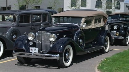 More than 40 classic cars rolled through the state of Iowa this weekend.