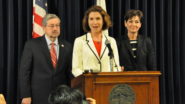 Gov. Terry Branstad announced Monday that Mary Mosiman has been named the new state auditor.