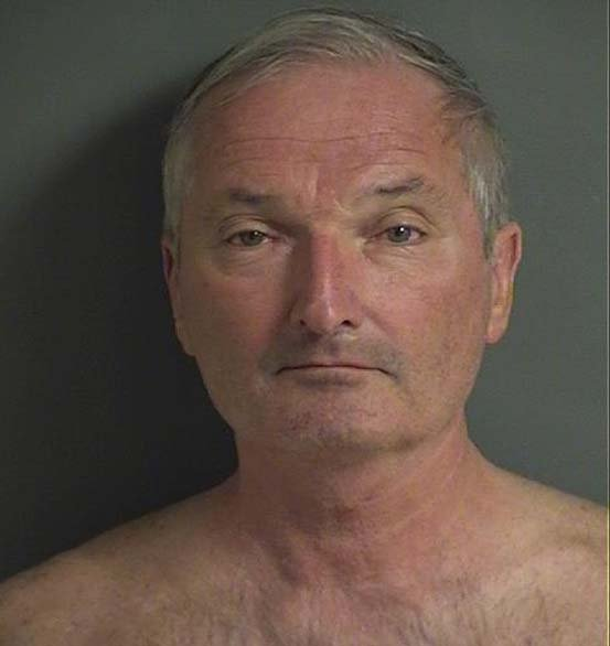 Kevin Shannon, 61, was arrested Sunday and charged with robbery and harassment.