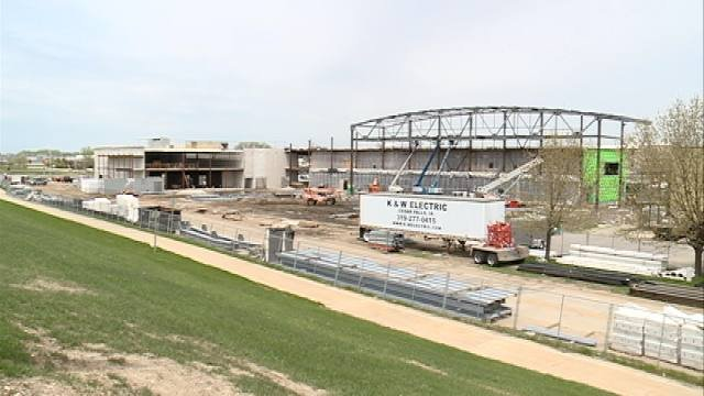 After years of planning, a brand new sports complex is close to completion in downtown Waterloo.