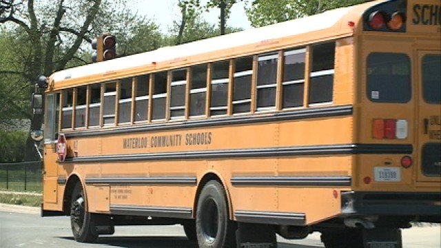 The Waterloo Community School District confirmed the girl is a student at Lowell Elementary, but denied that the vehicle was ever in the parking lot.  Still, some parents were upset because they weren't notified of the incident.