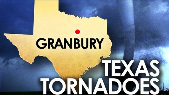 LIVE AT 3:20 p.m. -- Gov. Rick Perry briefs reporters following a tour of tornado-damaged Texas.