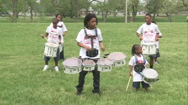 The Union Baptist Crusaders performed at Gates Park on Saturday.
