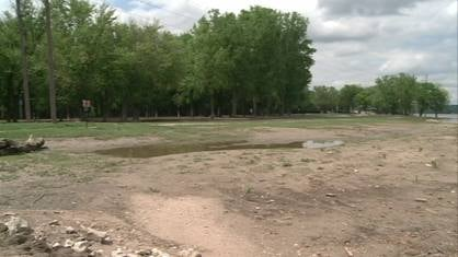 Flooding on the Mississippi River is leaving some very coveted camping spots empty in Dubuque this weekend.