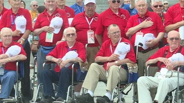 Ninety veterans are back home in Iowa after an incredible day in Washington, D.C., Tuesday as part of the Eastern Iowa Honor Flight from Cedar Rapids.