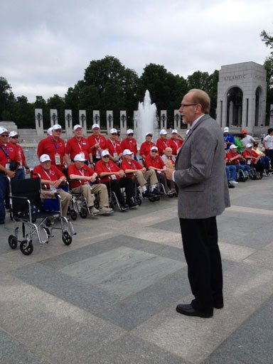 U.S. Rep. Dave Loebsack spoke to veterans.