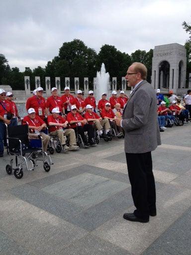 U.S. Rep. Dave Loebsack spoke to veterans.